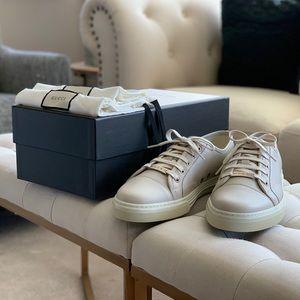 Gucci Miro Soft Mystic White Leather Sneaker